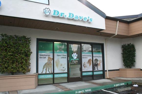Dr Daves front entrance